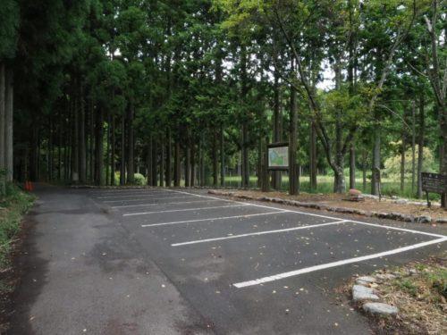 龍王ヶ淵駐車場